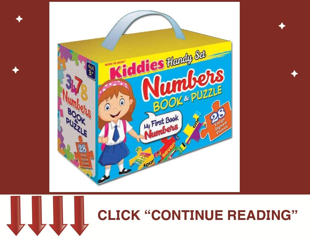Kiddies Handy Bag Book&Puzzle- Numbers