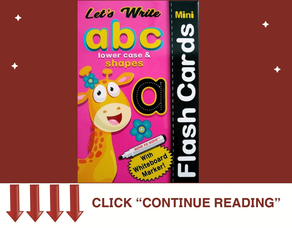 Flash Card abc Lower Case