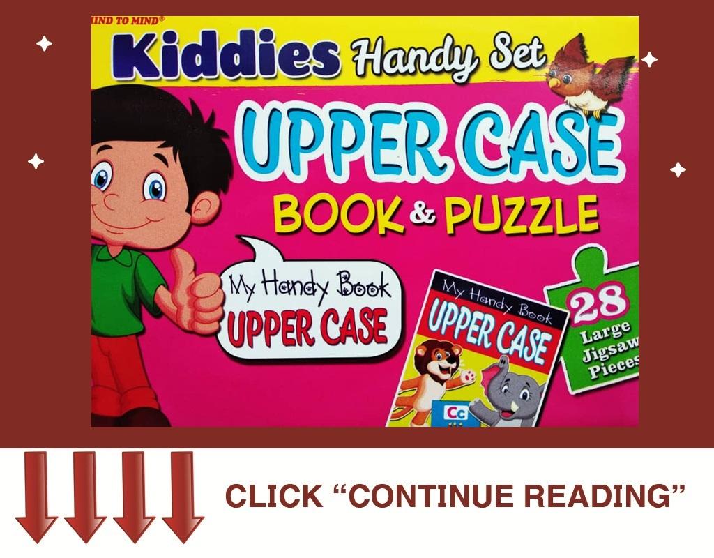 Kiddies Handy SET PUZZLE -UPPER CASE (NO BOOK)