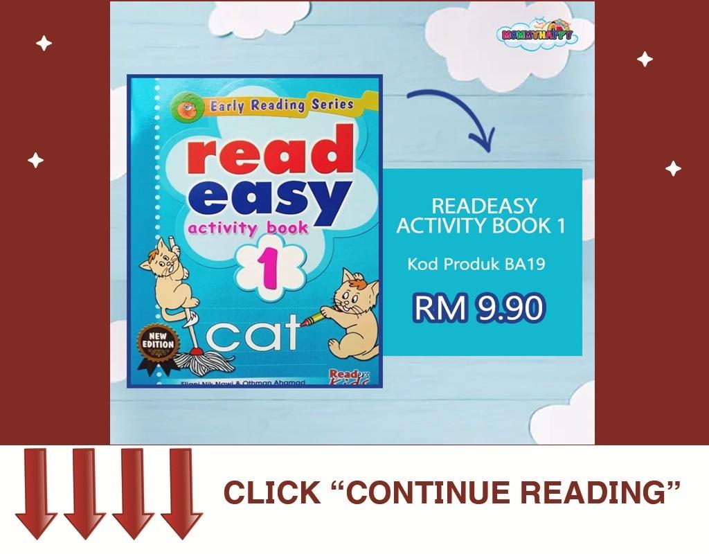 READ EASY ACTIVITY BOOK 1