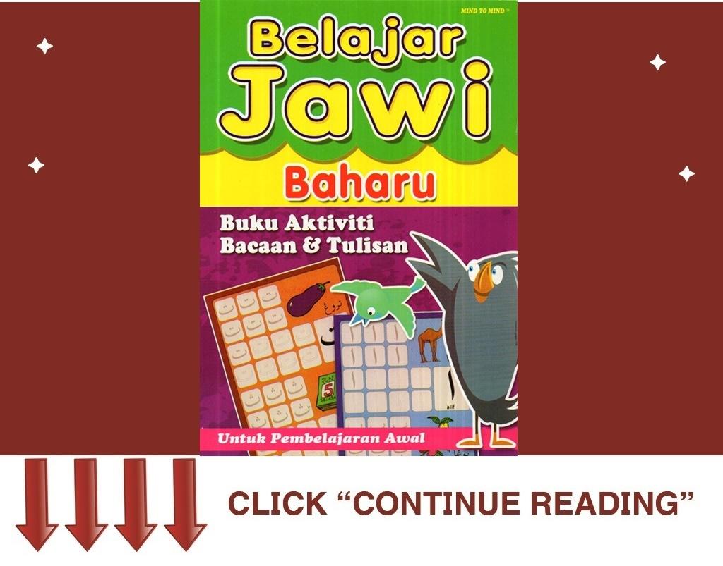 Buku Aktiviti Jawi