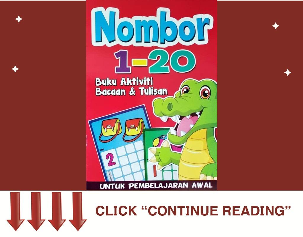 Buku Aktiviti Nombor 1-20
