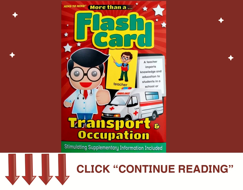 FLASH CARD TRANSPORT AND OCCUPATION