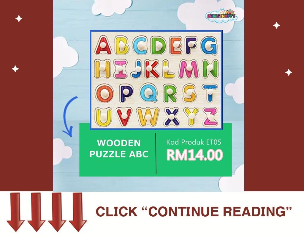 Wooden Puzzle ABC