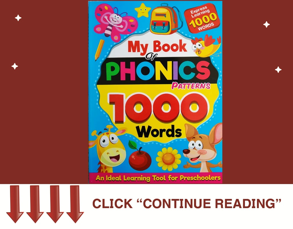 MY BOOK OF PHONIC 1000 WORDS