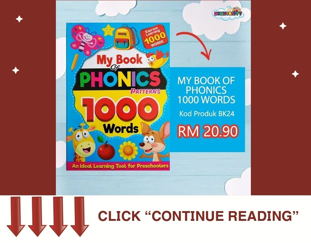 MY BOOK OF PHONICS 1000 WORDS