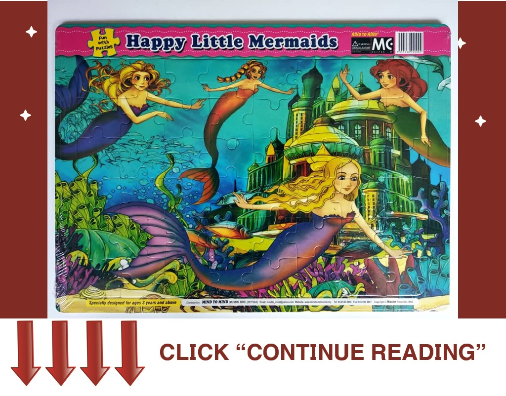 FUN WITH PUZZLES-HAPPY LITTLE MERMAIDS