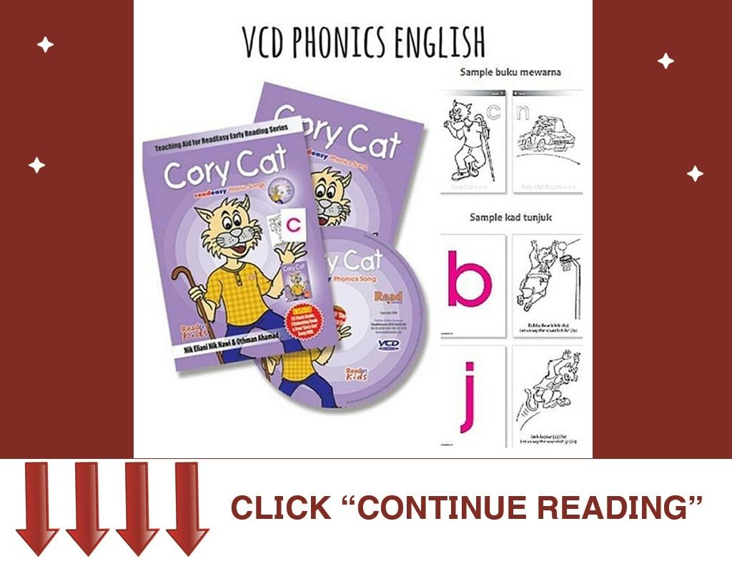Vcd English Phonics Cory Cat