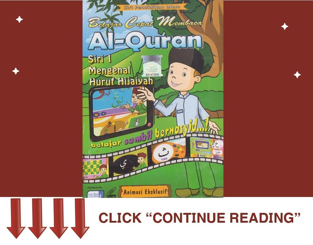 Vcd Belajar Cepat Membaca Al-Quran 1