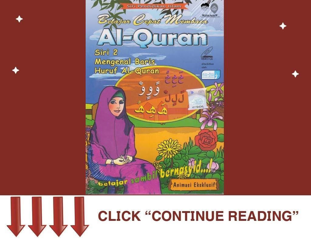 VCD Belajar Cepat Membaca Al-Quran 2