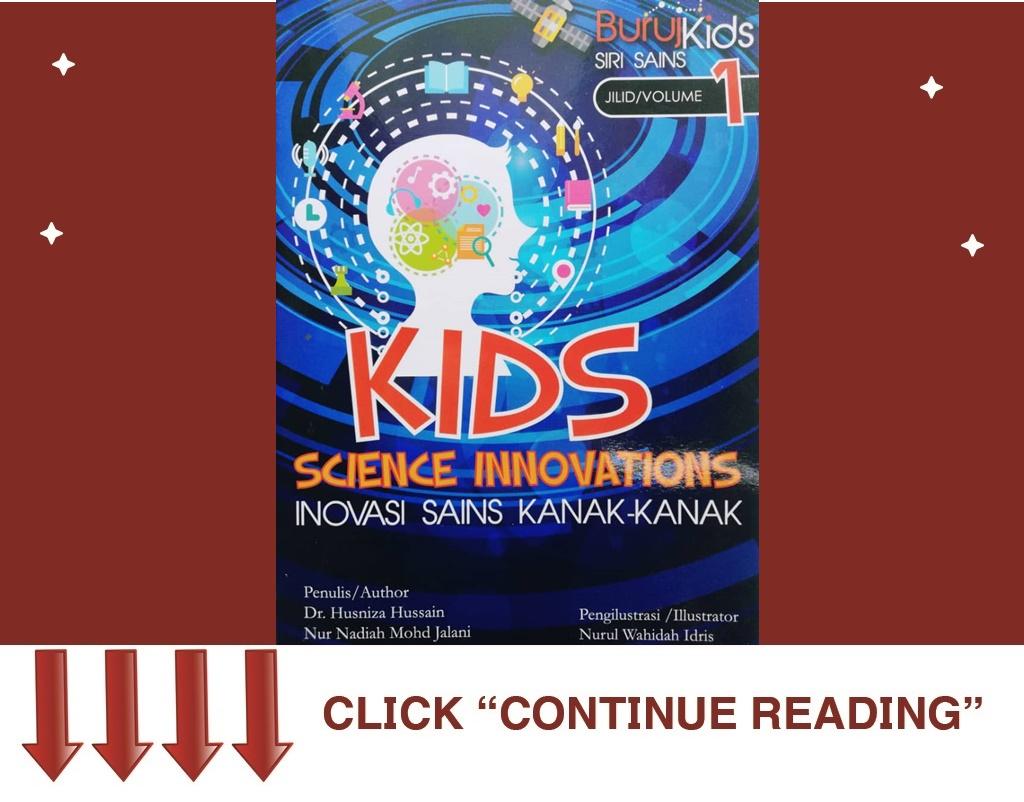 Buku Kids Science Innovations vol. 1
