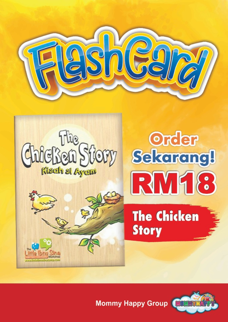 FC06-FLASHCARD THE CHICKEN STORY