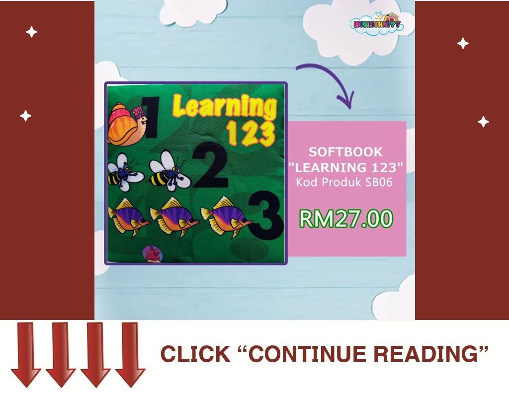 "SB06- SOFTBOOK ""LEARNING 123"""