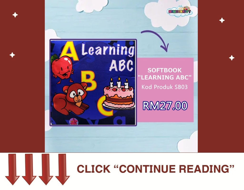 "SB03- SOFTBOOK ""LEARNING ABC"""