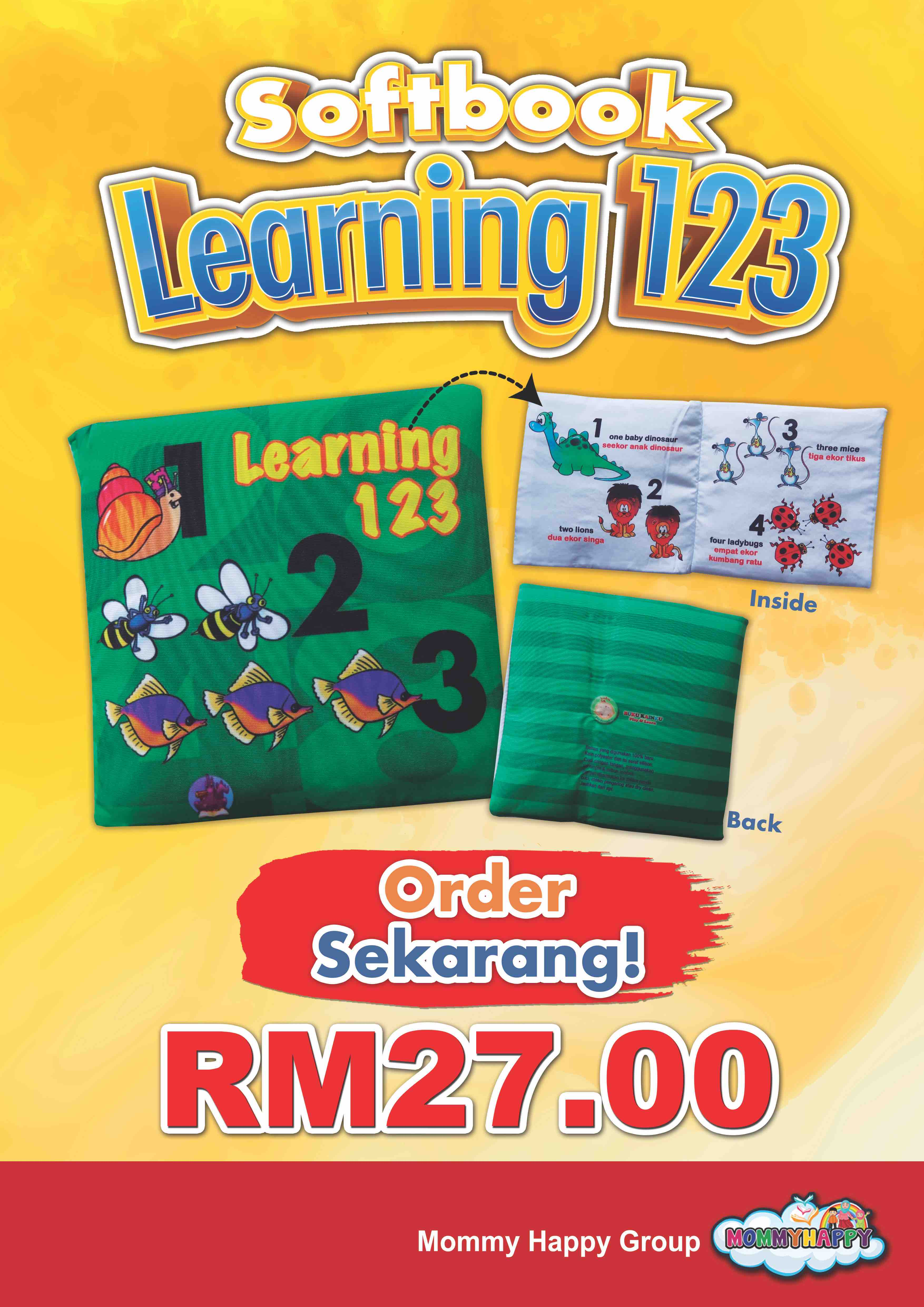 "SB06- SOFTBOOK ""LEARNING 123"""