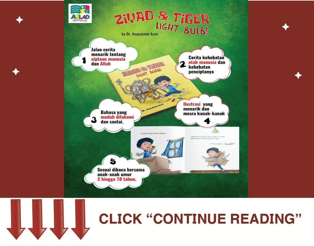 Ziyad & Tiger : Light Bulb!