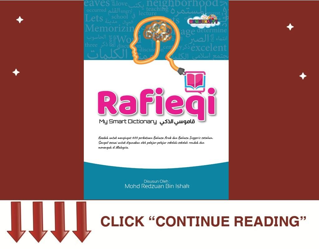MY SMART DICTIONARY-RAFIEQI