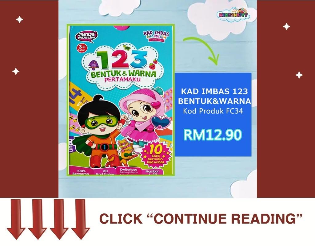 FC12-KAD IMBAS 123 BENTUK & WARNA