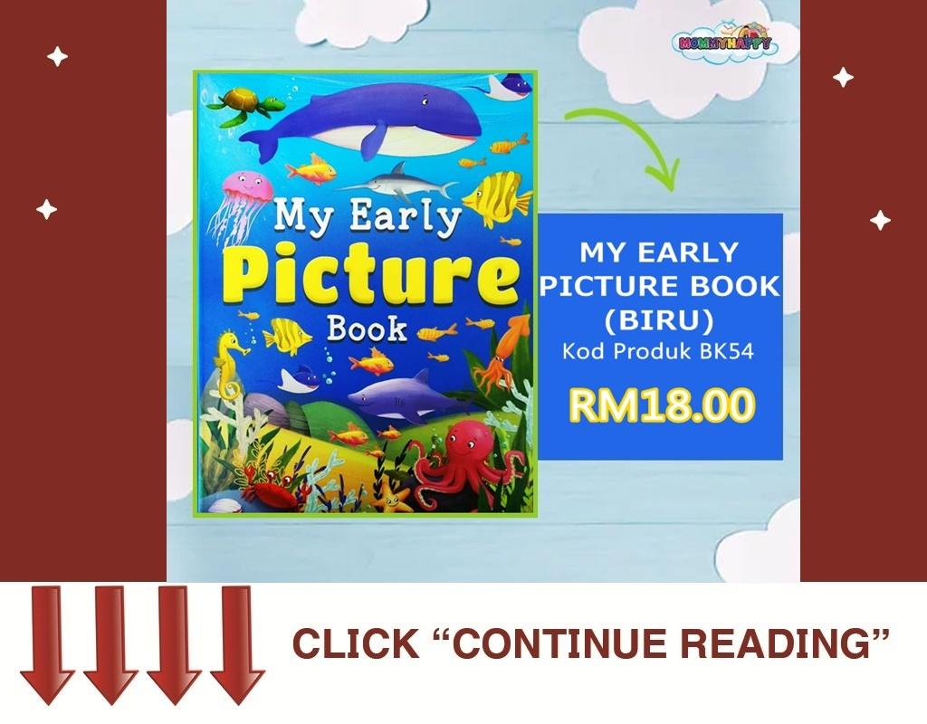 MY EARLY PICTURE BOOK (BIRU)