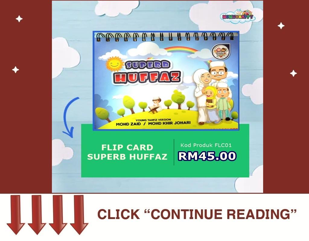 FLIP CARD SUPERB HUFFAZ