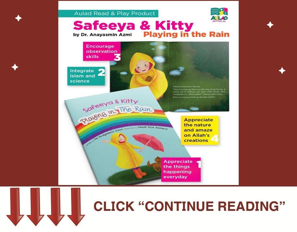 BK58- SAFEEYA & KITTY: PLAYING IN THE RAIN