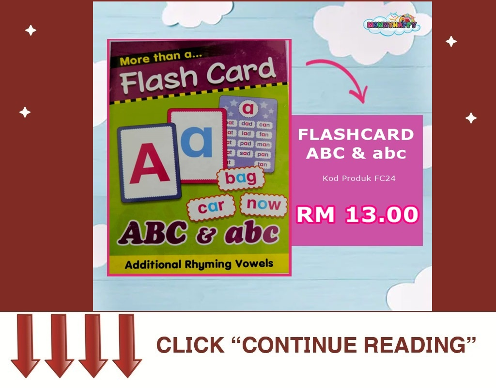 FLASHCARD ABC & abc