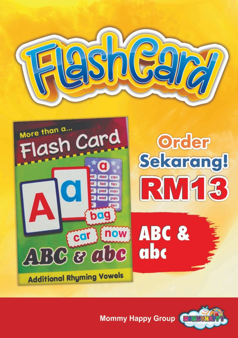 FC24-FLASH CARD ABC&abc
