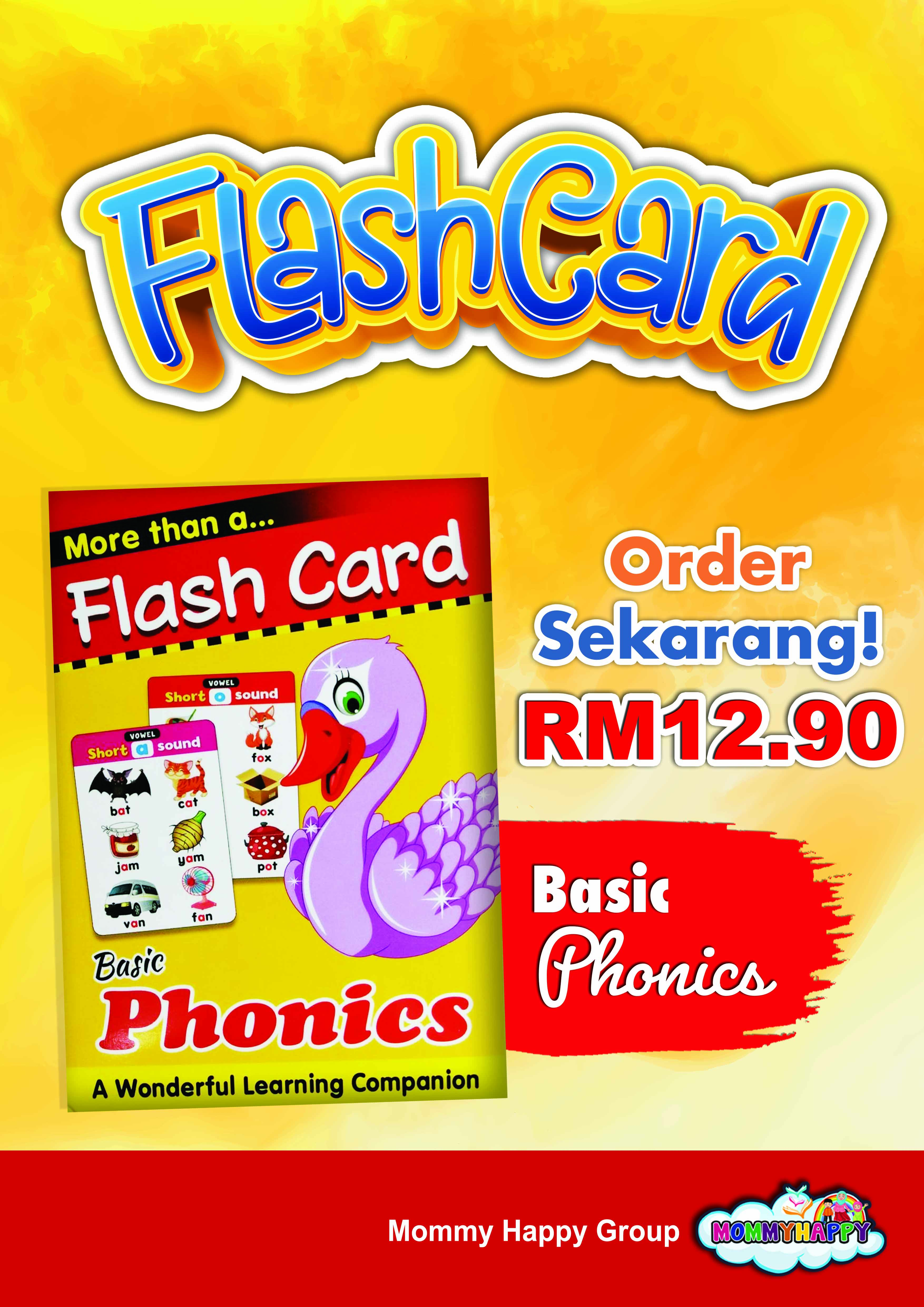 FC25- FLASH CARD BASIC PHONICS