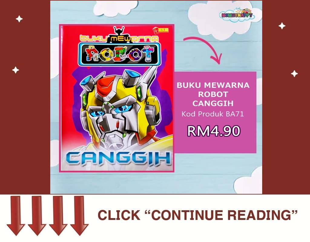 BUKU MEWARNA ROBOT CANGGIH