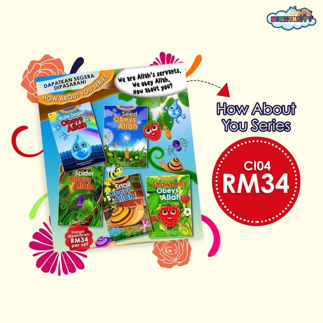 CI04 SET BUKU CERITA HOW ABOUT YOUR SERIES