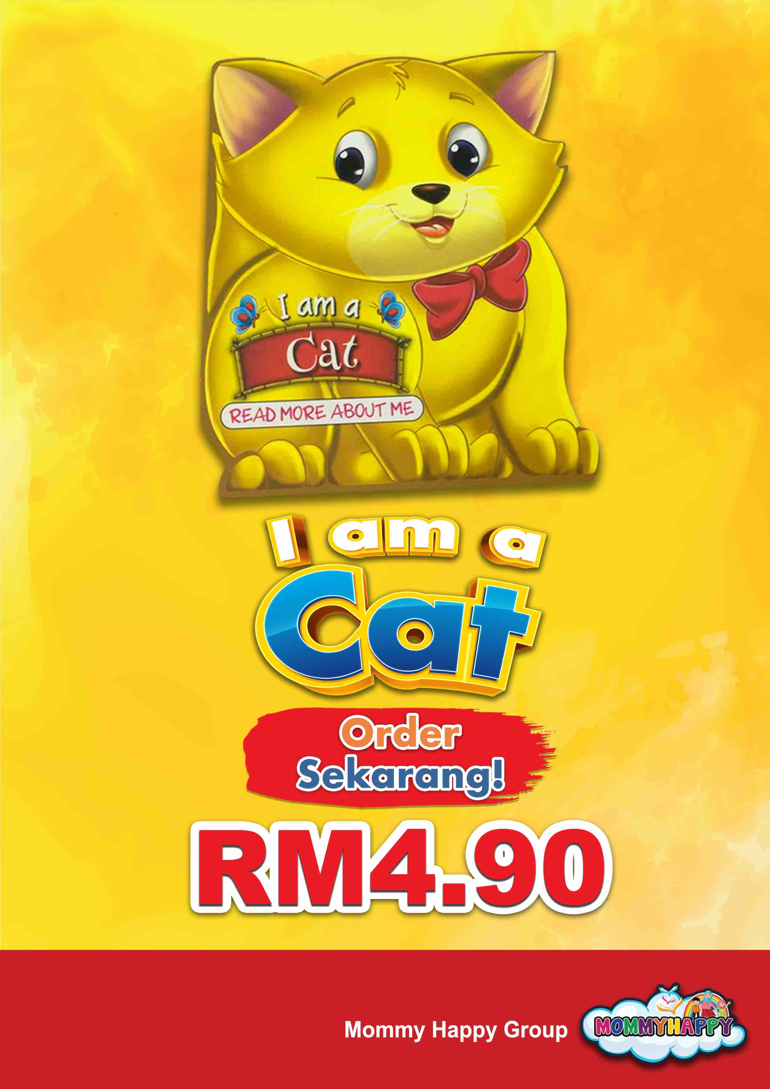 BE03- English Story Book – I am a cat