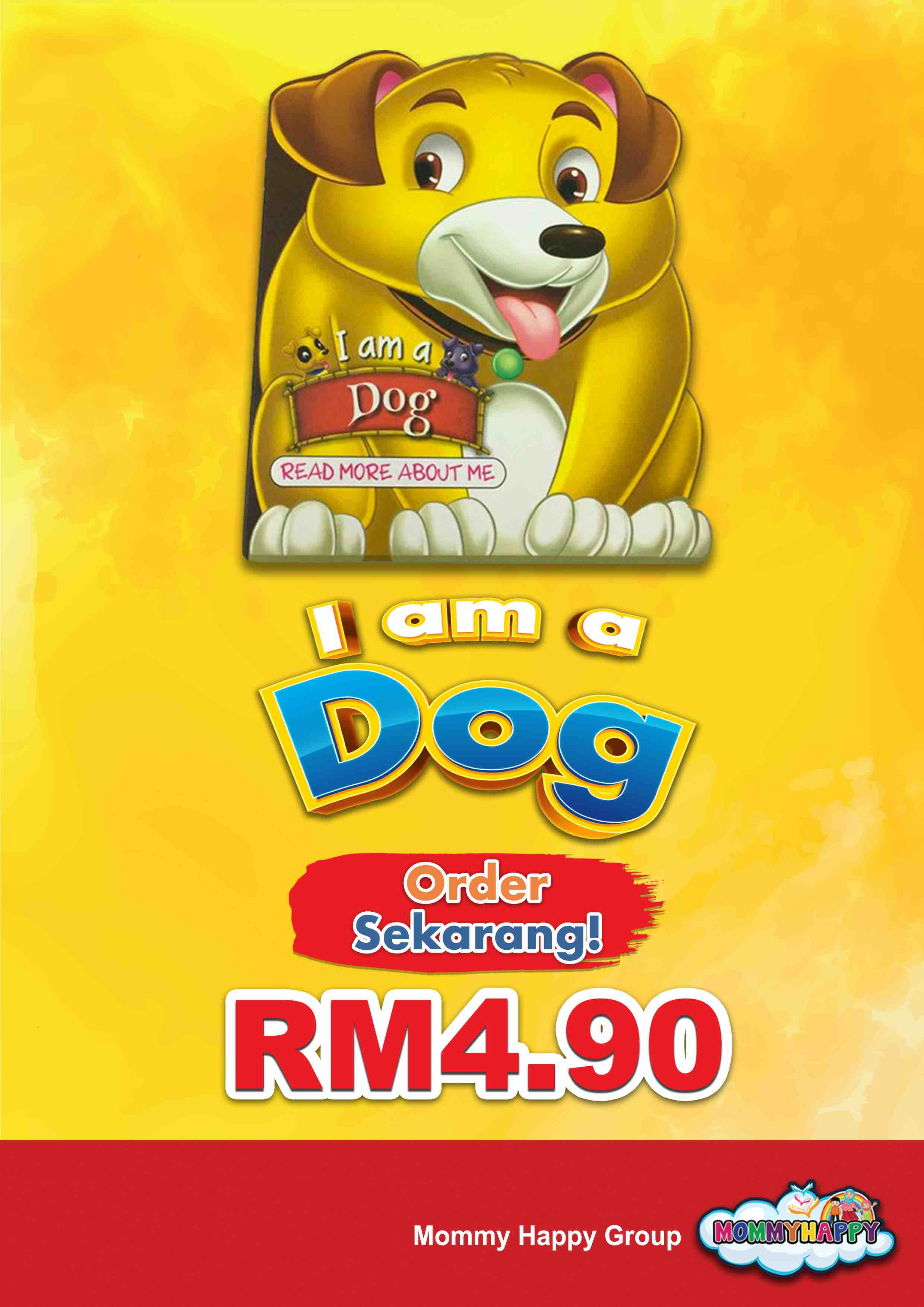 BE05- English Story Book – I am a dog