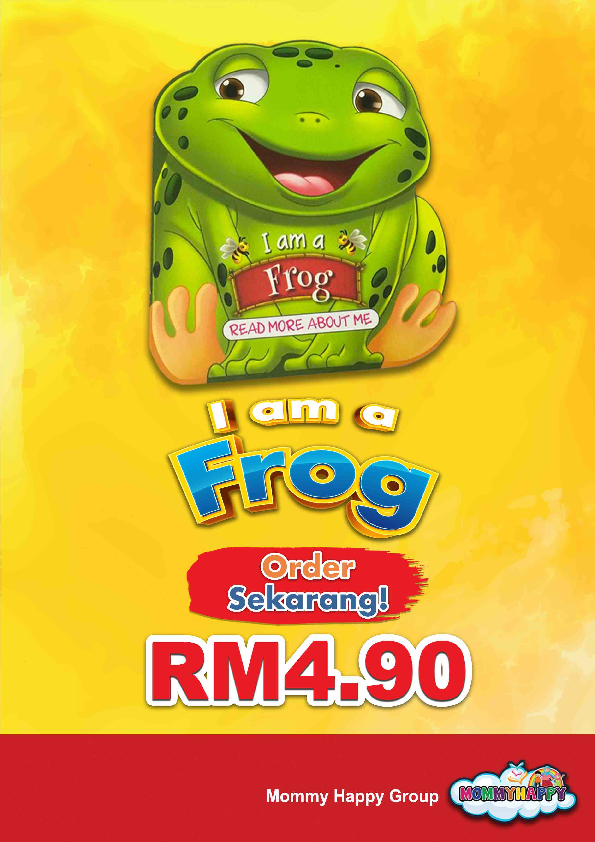 BE04- English Story Book – I am a frog