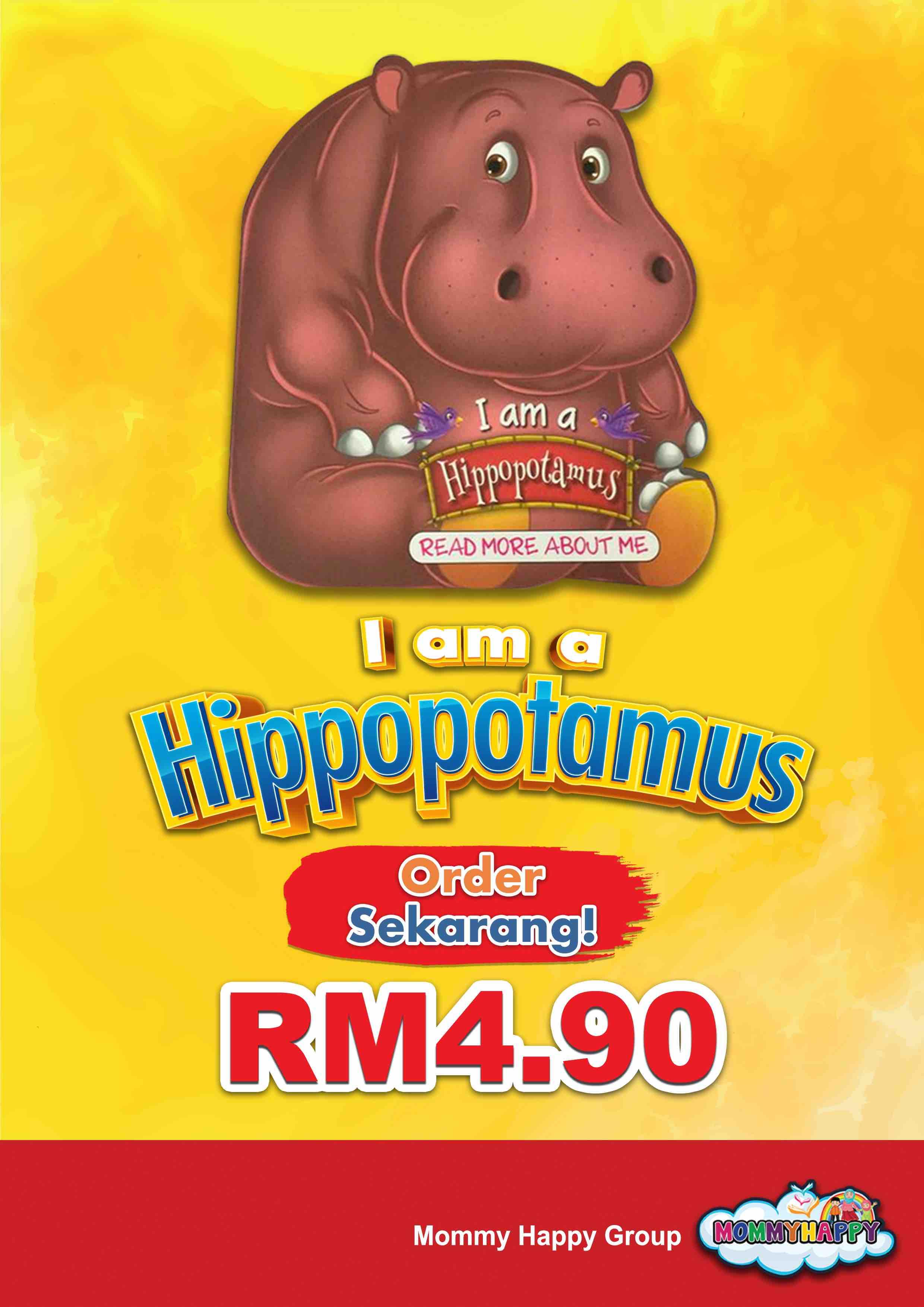 BE06- English Story Book – I am a hippopotamus