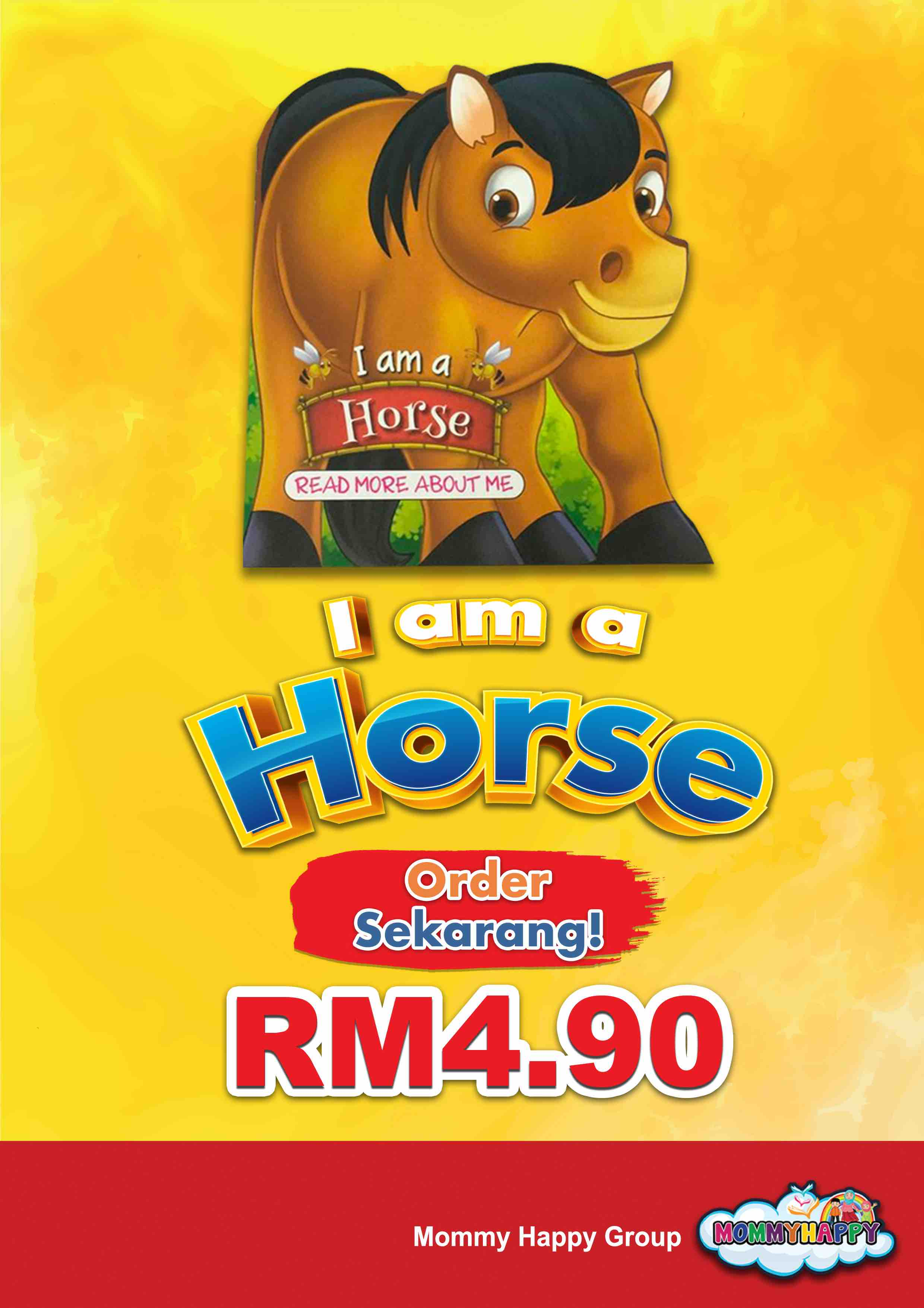BE07- English Story Book – I am a horse