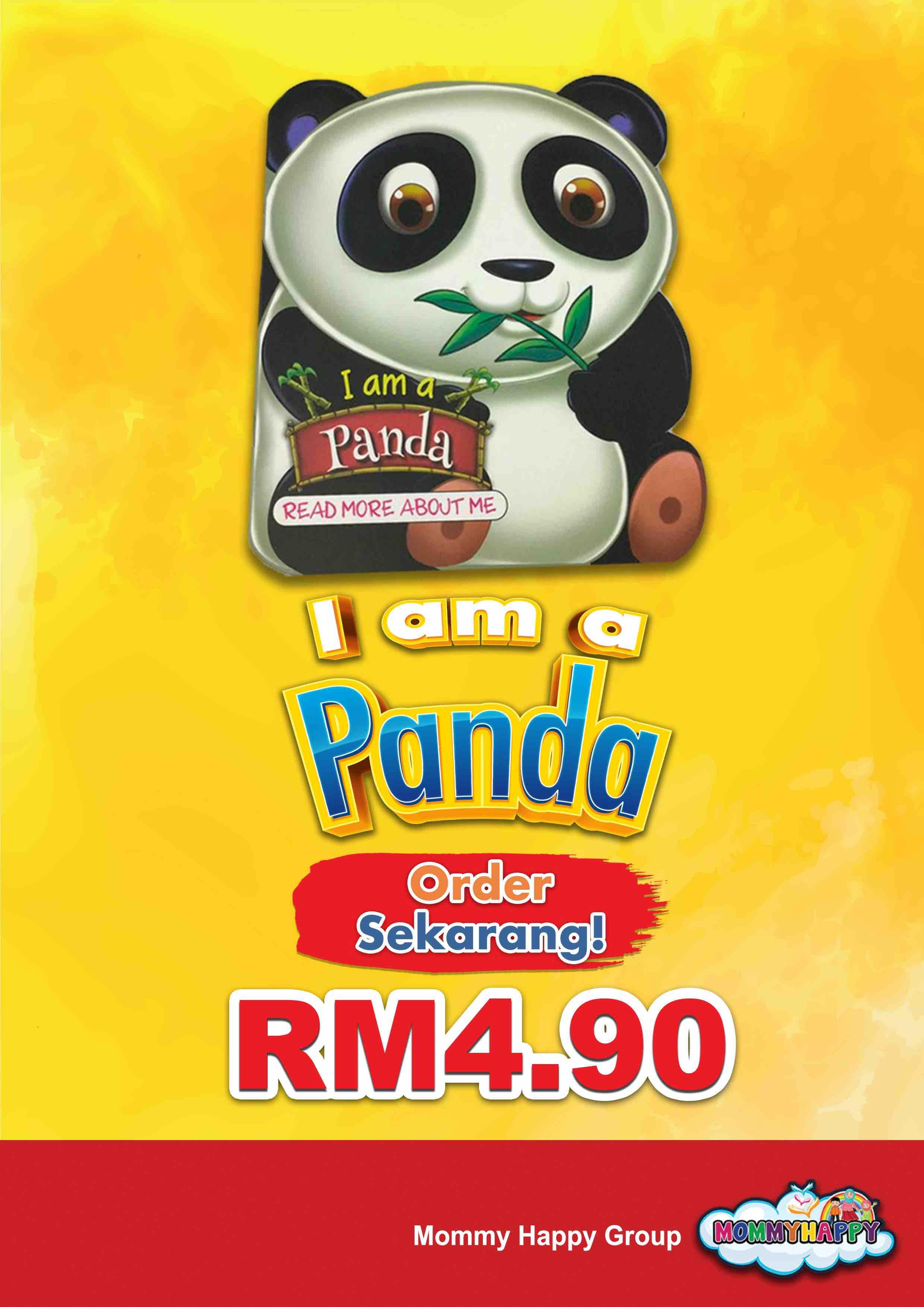 BE10- English Story Book – I am a panda