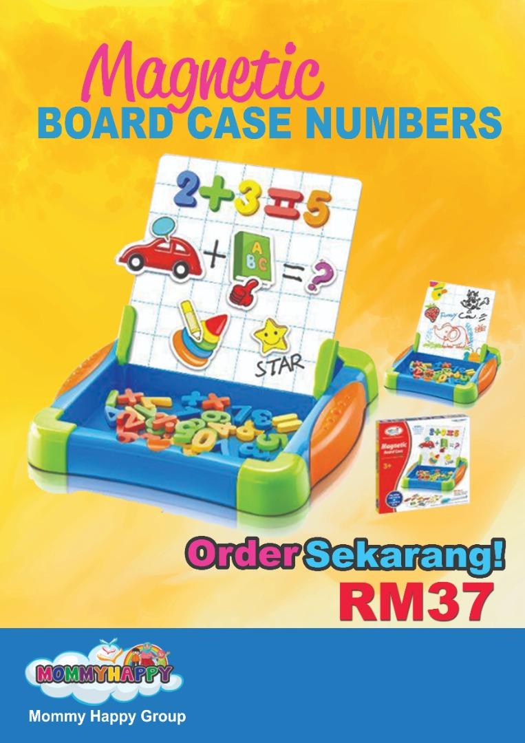 ET703-Magnetic Board Case -NUMBER
