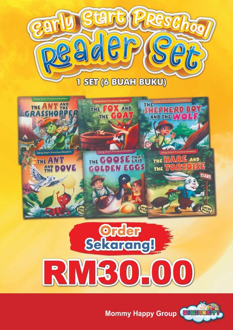 JUNBK01-Early Start Preschool Read Set