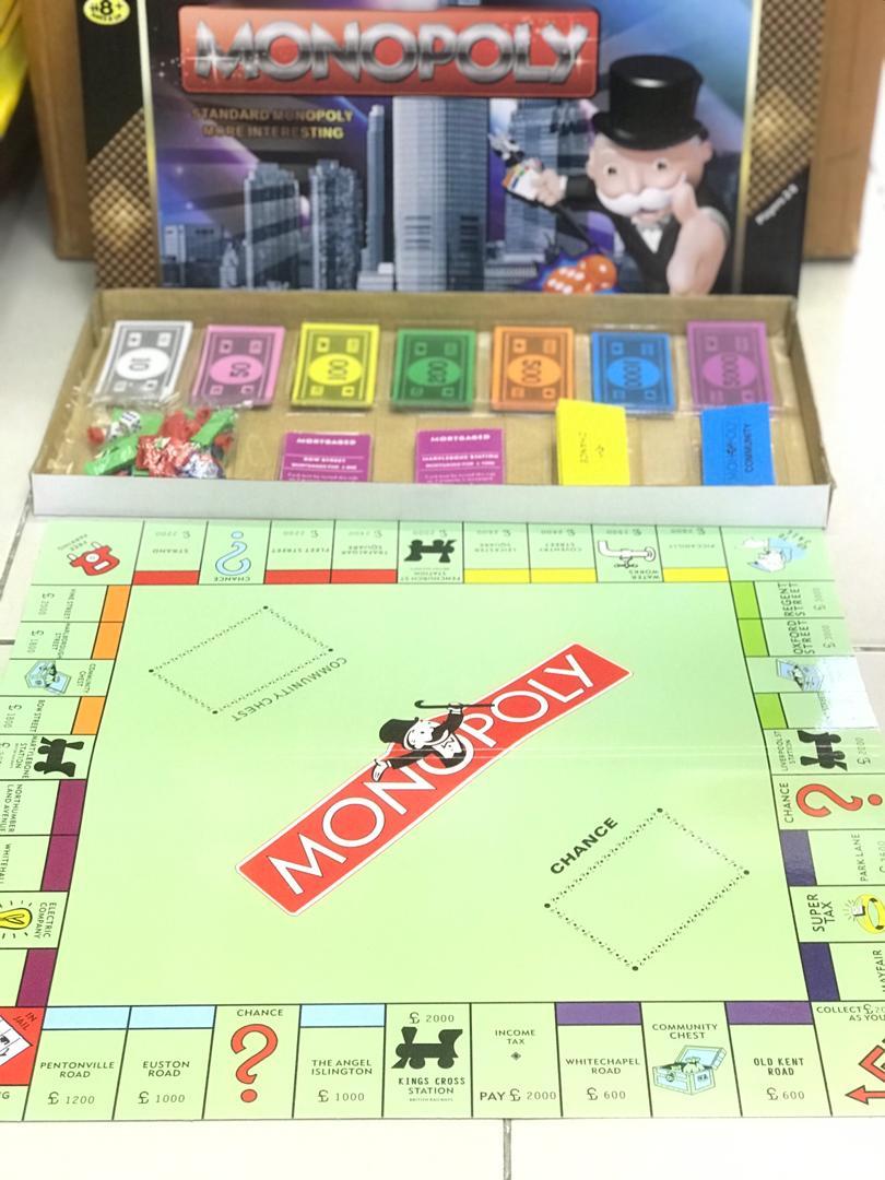 JUNET06-Monopoly Games