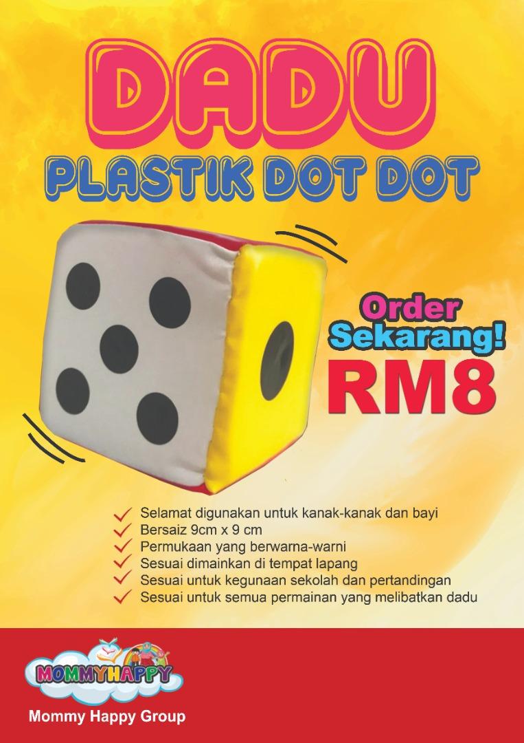 MBJ03- DADU PLASTIK DOT-DOT