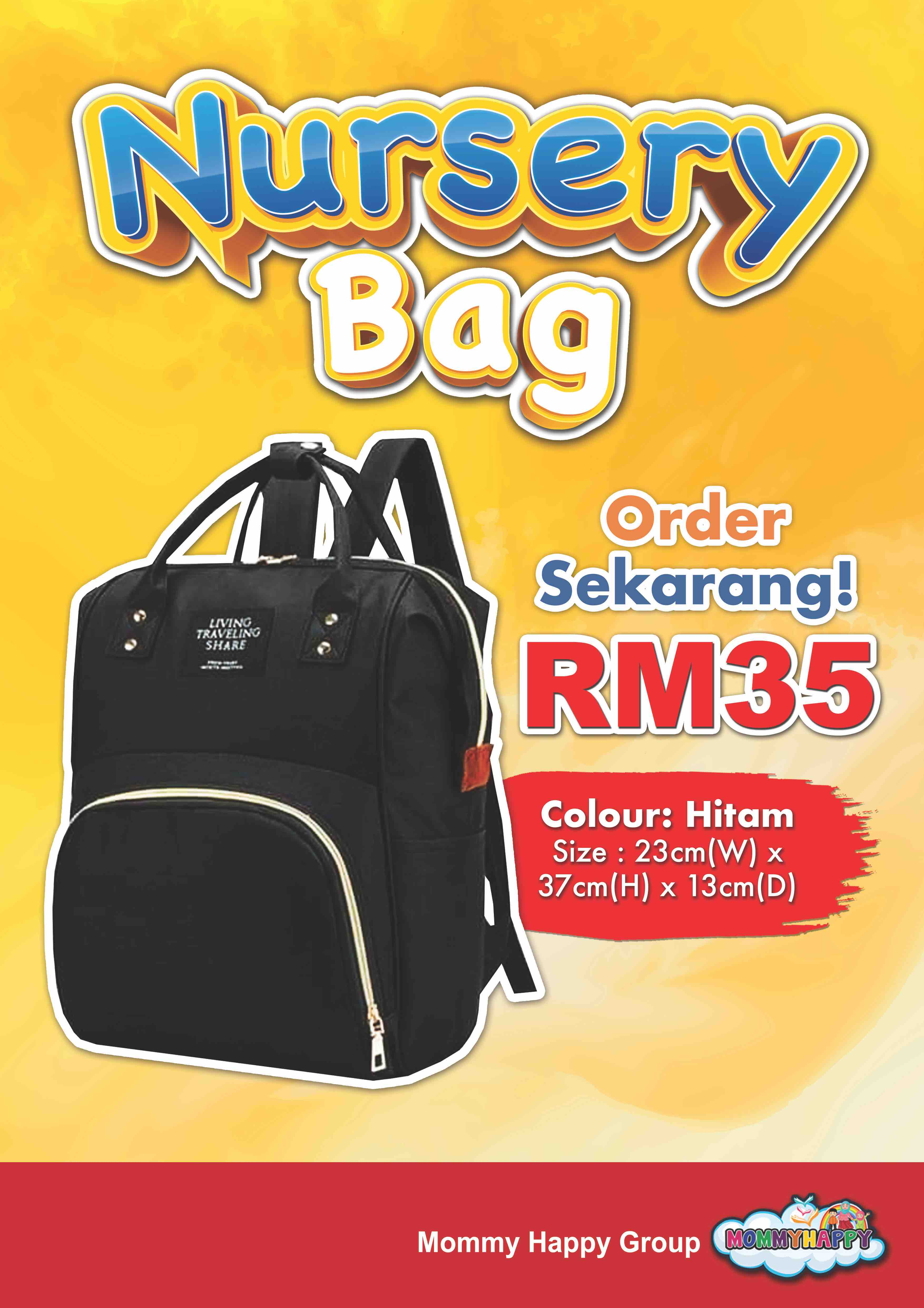 BAG02-NURSERY BAG HITAM