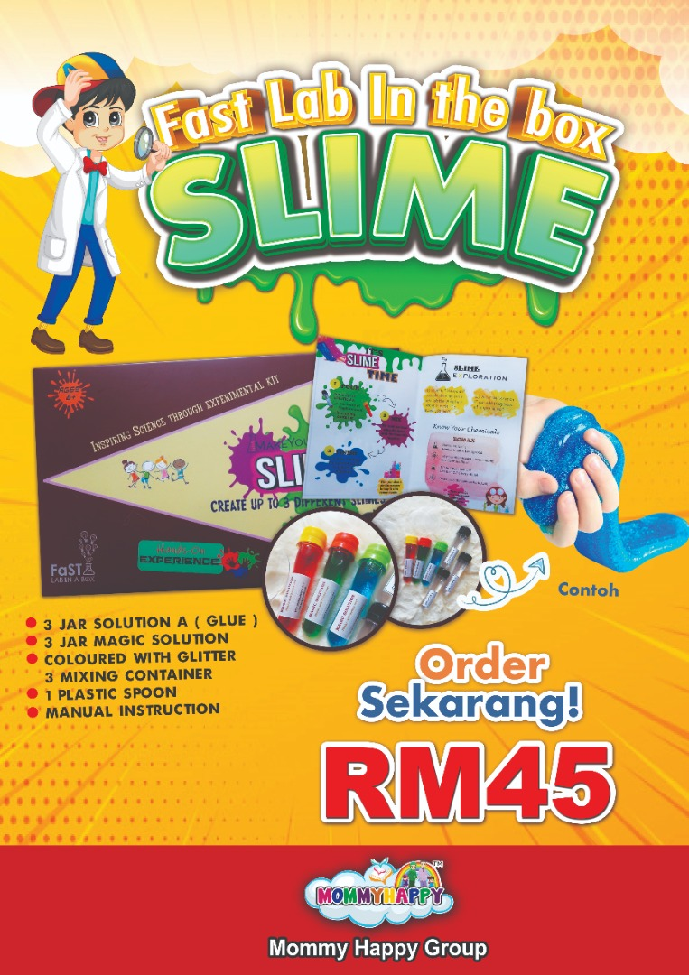KIDSLAB02- LAB IN THE BOX SLIME