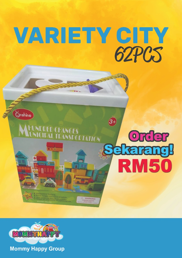 MAYET20-VARIETY CITY 62PCS