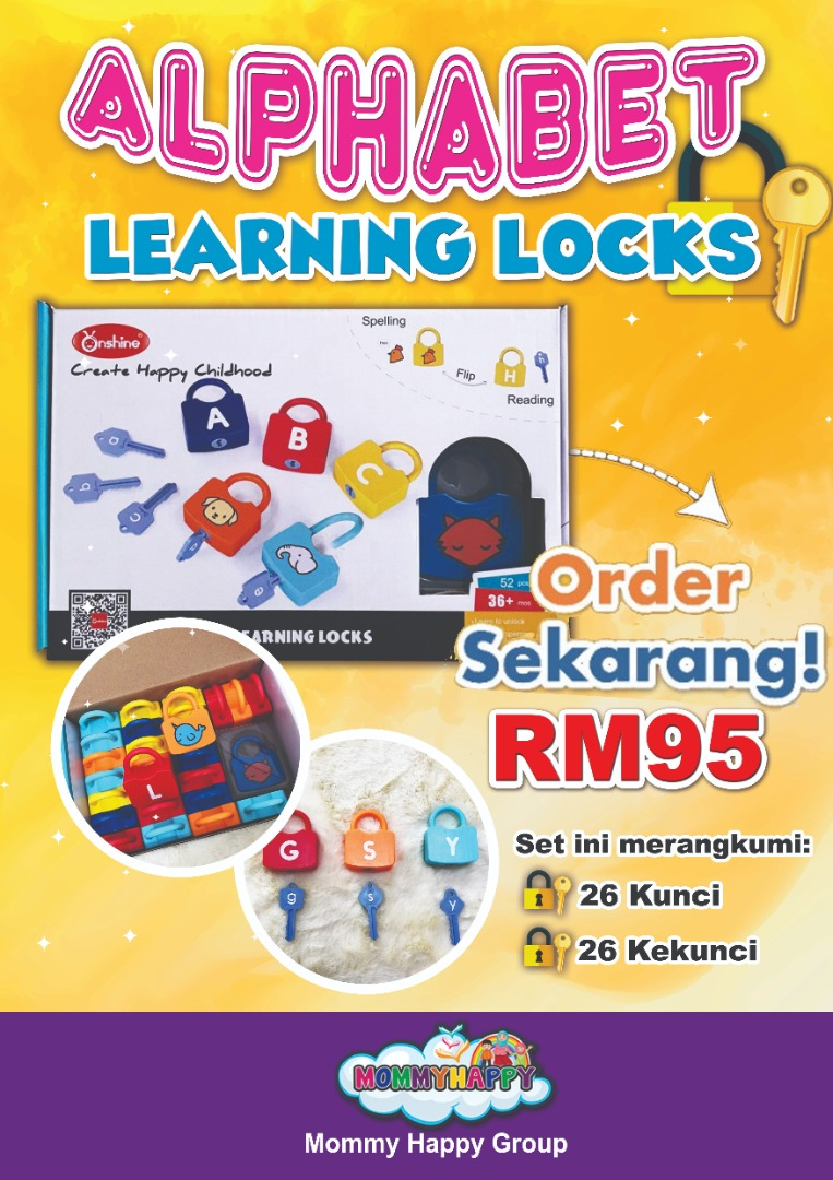 ET100 – Alphabet Learning Lock