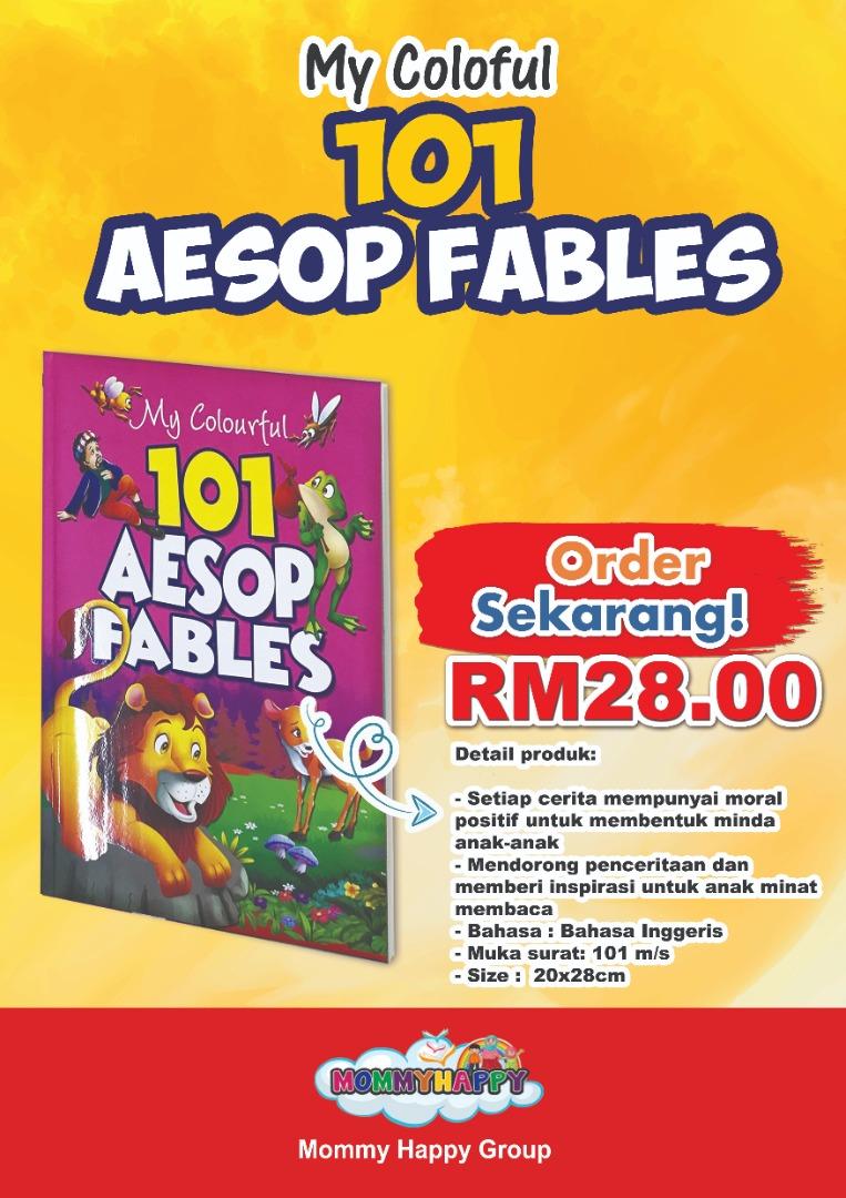 BK118-COLOURFUL 101 AESOP FABLE