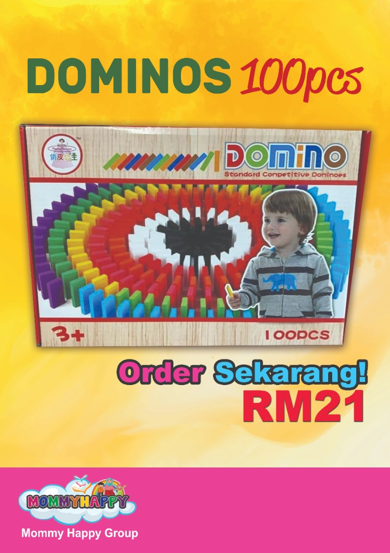 JUNET33-DOMINOS 100pcs