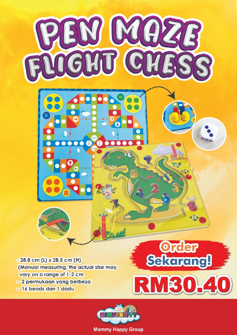 DISET09-PEN MAZE FLIGHT CHESS