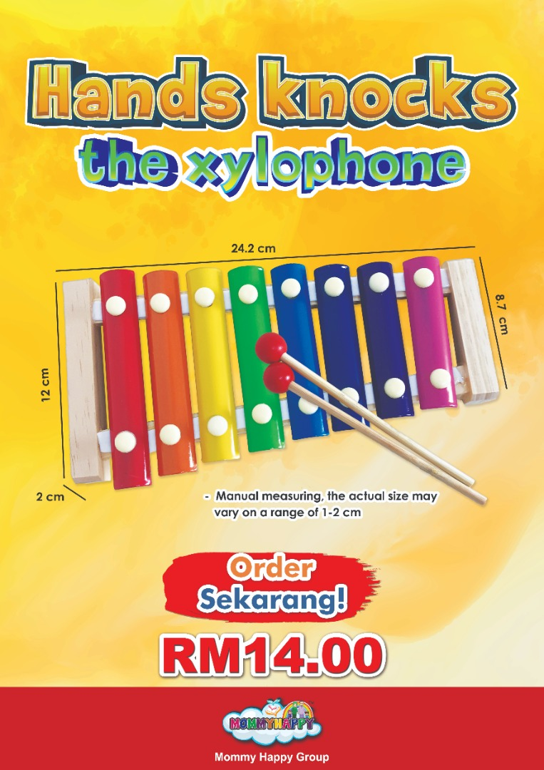 DISET10-HAND KNOCKS THE XYLOPHONE