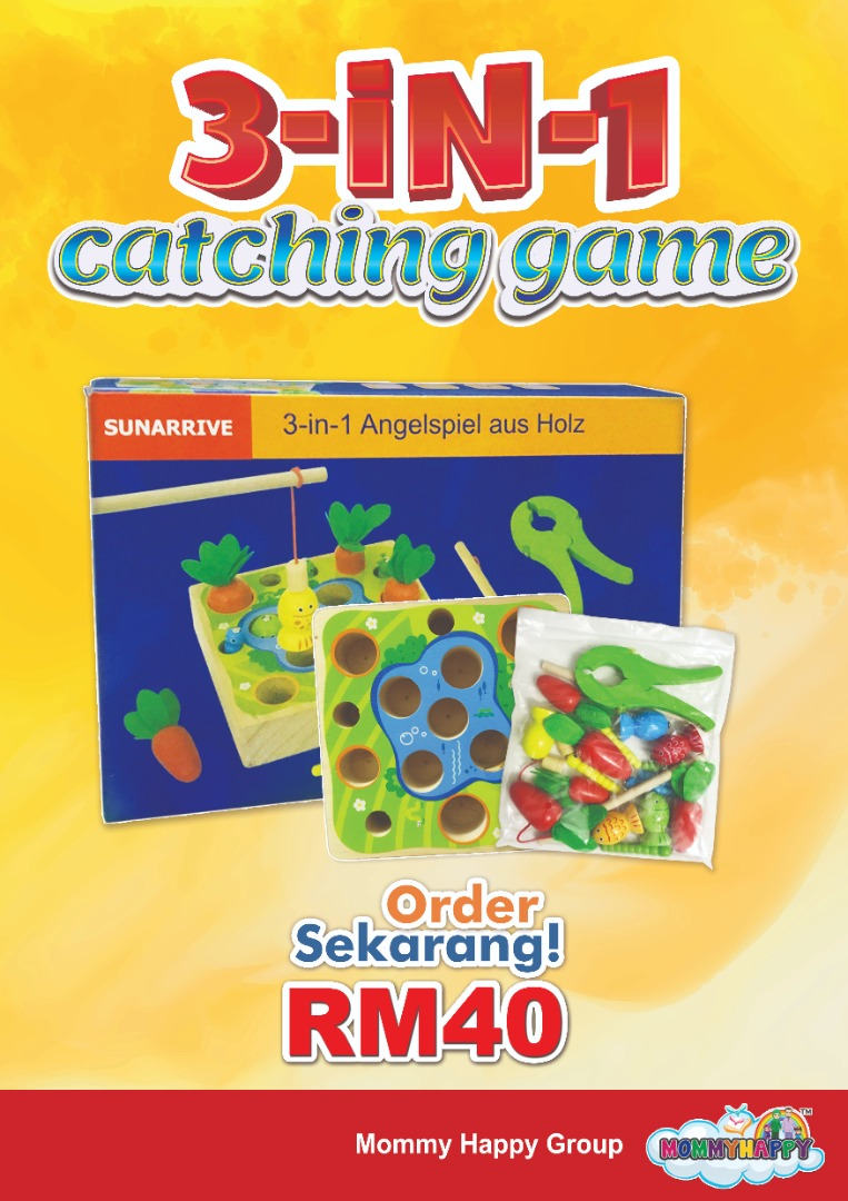 DISET17-3 IN 1 CATCHING GAME