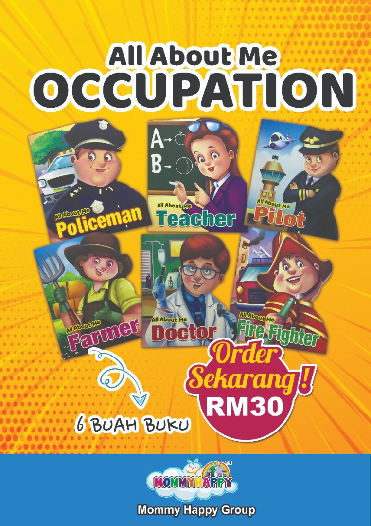 BK129-ALL ABOUT ME OCCUPATION (6 SET OF BOOKS)